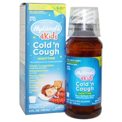 Hyland's Nighttime Cold N'Cough 4 Kids