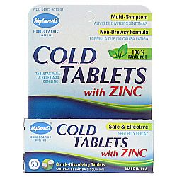 Hyland's Cold Tablets wZinc
