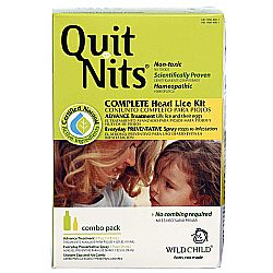 Hyland's Wild Child Quit Nits Complete Lice Kit