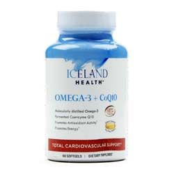 Iceland Health Omega-3 Plus CoQ10