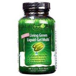 Irwin Naturals Women's Living Green Multi