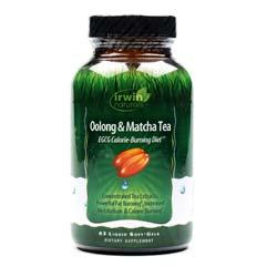 Irwin Naturals Oolong  Matcha Tea