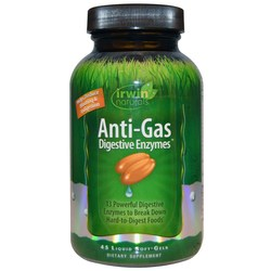 Irwin Naturals Anti-Gas Digestive Enzymes