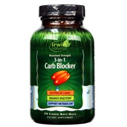 Irwin Naturals 3-in-1 Carb Blocker