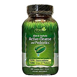 Irwin Naturals Aloe and Triphala Active-Cleanse and Probiotics