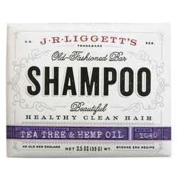 J.R. Liggett's Shampoo Bar - Tea Tree Oil  Hemp Oil