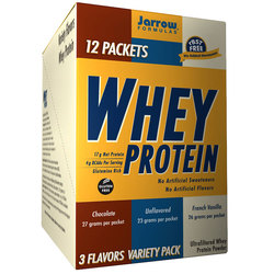 Jarrow Formulas 100- Natural Whey Protein Variety Pack