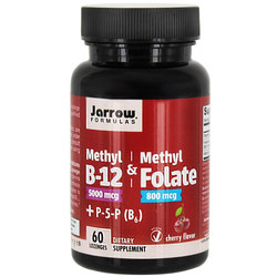 Jarrow Formulas Methyl B-12  Methyl Folate