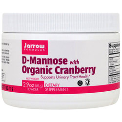 Jarrow Formulas D-Mannose with Organic Cranberry