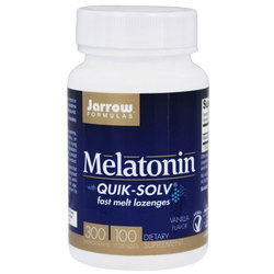 Jarrow Formulas Melatonin with Quik-Solv