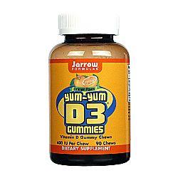 Jarrow Formulas Yum-Yum D3 Gummies 400 IU