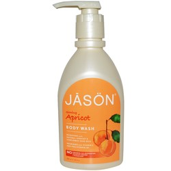 Jason Natural Cosmetics Glowing Apricot Body Wash
