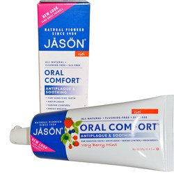 Jason Natural Cosmetics Oral Comfort Antiplaque  Soothing Tooth Gel