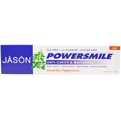 Jason Natural Cosmetics PowerSmile Anti-Cavity  Whitening Gel