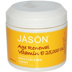 Jason Natural Cosmetics Age Renewal Vitamin E 25-000 IU Moisturizing Creme