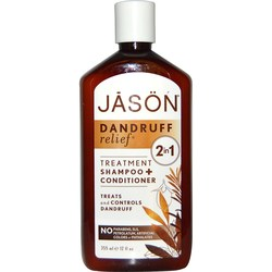 Jason Natural Cosmetics Dandruff Relief 2 in 1 Treatment Shampoo + Conditioner