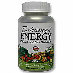 Kal Enhanced Energy Whole Food Multivitamin