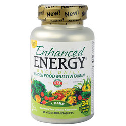 Kal Enhanced Energy Once Daily Whole Food Vitamin