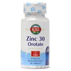 Kal Zinc 30 Orotate