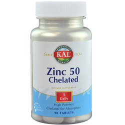 Kal Zinc 50 Chelated