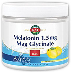 Kal Melatonin 1.5 mg Mag Glycinate