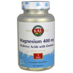 Kal Magnesium Hydroxy Acids with Orotates