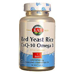 Kal Red Yeast Rice CoQ10 Omega 3