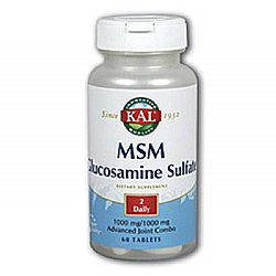 Kal MSM Glucosamine Sulfate