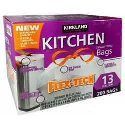Kirkland Signature Flex-Tech Drawstring Kitchen Bags