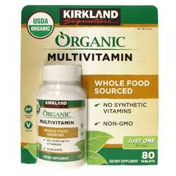Kirkland Signature Organic Multivitamin One Per Day
