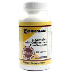 Kirkman Labs B-Complex with CoEnzymes Pro-Support