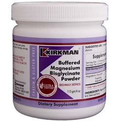 Kirkman Labs Buffered Magnesium Bisglycinate Powder