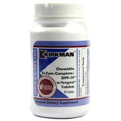 Kirkman Labs Chewable EnZym-CompleteDPP-IV with Isogest
