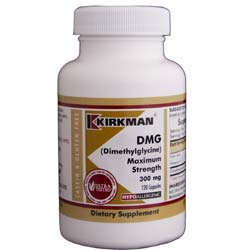 Kirkman Labs DMG (Dimethylglycine) Maximum Strength 300 Mg
