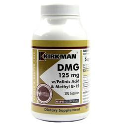 Kirkman Labs DMG (Dimethylglycine) with Folinic Acid and Methyl B12