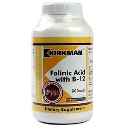Kirkman Labs Folinic Acid With B-12