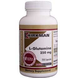 Kirkman Labs L-Glutamine 250 Mg
