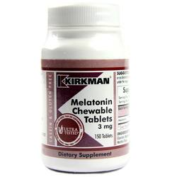 Kirkman Labs Melatonin Chewable Tablets