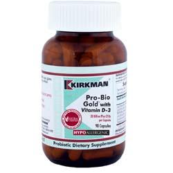 Kirkman Labs Pro-Bio Gold with Vitamin D-3
