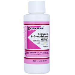 Kirkman Labs Reduced L-Glutathione Lotion