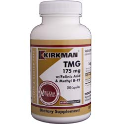 Kirkman Labs TMG with Folinic Acid and Methyl B12