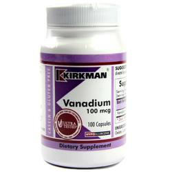 Kirkman Labs Vanadium 100 Mcg