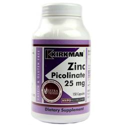 Kirkman Labs Zinc Picolinate 25 Mg