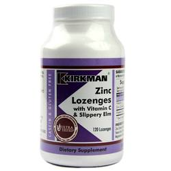 Kirkman Labs Zinc Lozenges With Vitamin C And Slippery Elm