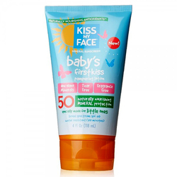 Kiss My Face Baby's First Kiss Pampering Sunscreen Lotion