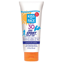 Kiss My Face Cool Sport for Face  Neck Sunscreen