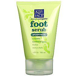 Kiss My Face Peppermint Foot Scrub