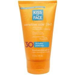 Kiss My Face Sensitive Side 3-in-1 Sunscreen