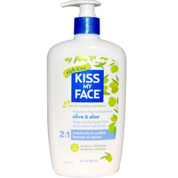 Kiss My Face 2-in-1 Deep Moisturizing Lotion
