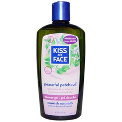 Kiss My Face Peaceful Patchouli Bath  Shower Gel